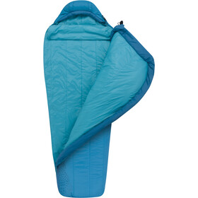 Sea to Summit Venture VtI Sleeping Bag Long Women, carribean/aegean